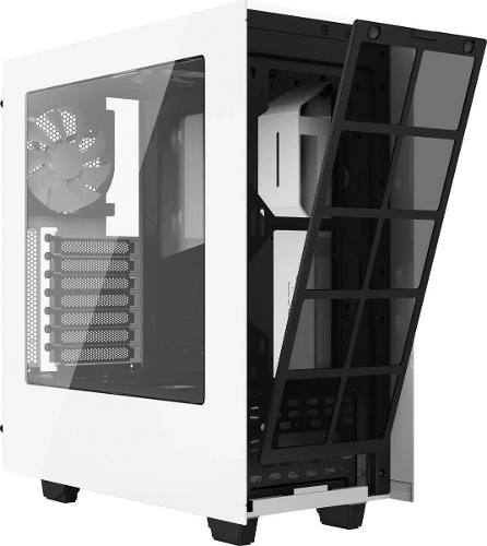 Gabinete Mid-tower S340 Branco Lateral Em Acrílico - Nzxt
