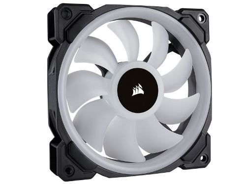 Cooler Fan P/ Gabinete Corsair Pwm Ll140 Rgb Dual Light Loop