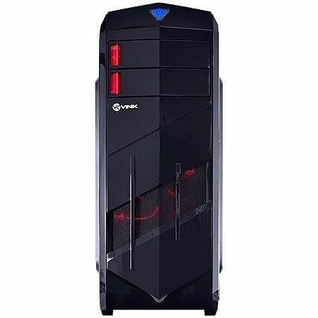 Gabinete Mid-tower Vx Blizzard V2 Led Vermelho Usb 3.0 Vinik