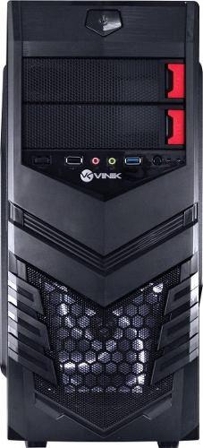 Gabinete Vx Gaming Vulcan V2 Led Branco Usb 3.0 Vinik + Nfe