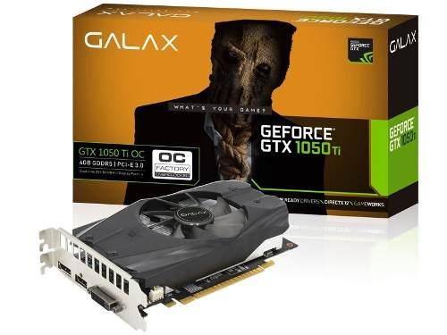 Geforce Galax Gtx Performance Nvidia Gtx 1050ti Oc 4gb Ddr5