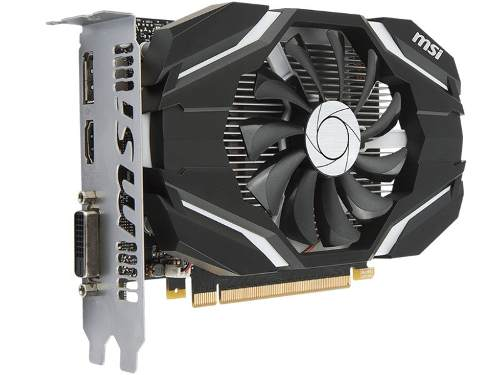 Geforce Msi Gtx Performance Nvidia Gtx 1050ti Oc 4gb Ddr5 12