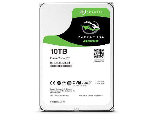 Hd 3,5 Barracuda 10tb 7200rpm 256mb Cache Sata 6gb/s Seagate