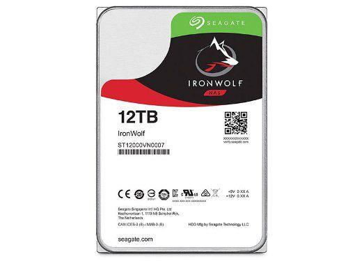 Hd 3,5 Seagate Ironwolf Sistema De Backup Nas 12tb Sata Iii