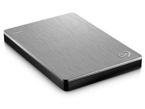 Hd Externo Seagate 1tb Backup Plus Prata Usb 3.0 Stdr1000100