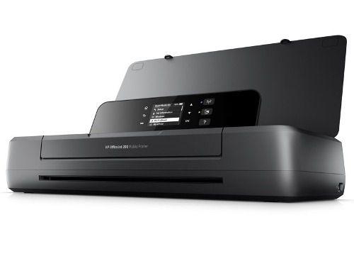 Impressora Jato De Tinta Color Hp Oj 200 Mobile Portátil