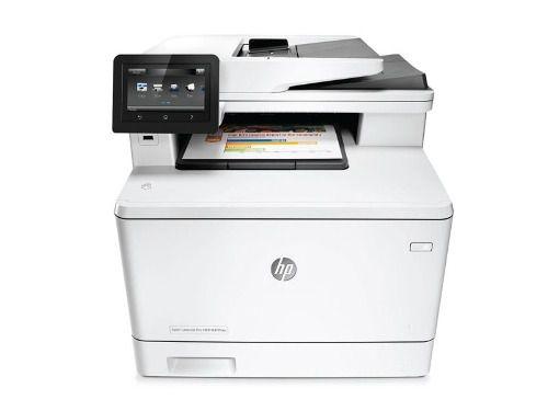 Impressora Multifuncional Laserjet Color Hp M477fdw Wifi 28p