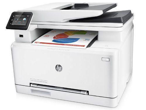 Impressora Multifuncional Laserjet Color Hp M477fnw Wifi 28p