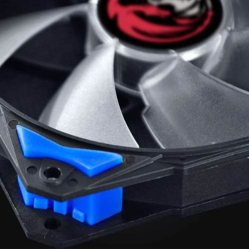 Cooler Fan F4 Fury Pcyes 120mm Led Azul Para Gabinete Gamer