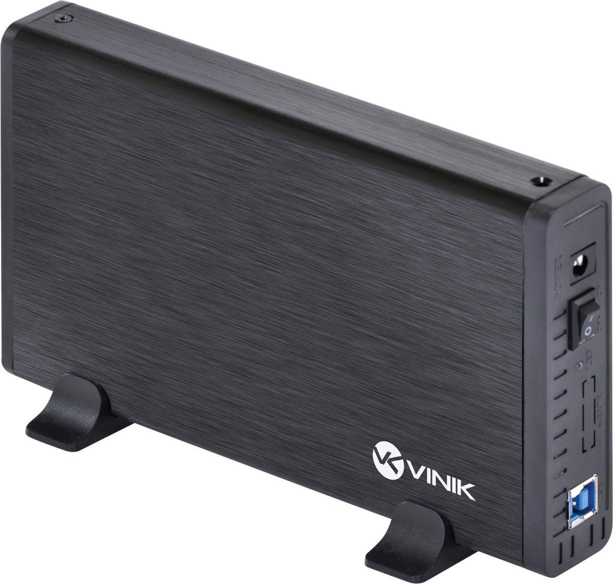 """CASE EXTERNO HD 3.5"""" ALUMÍNIO COM CHAVE I/O USB 3.0"""