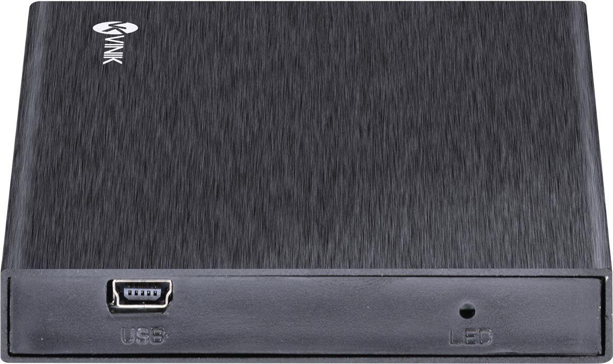 """CASE EXTERNO PARA HD 2.5"""" ALUMÍNIO USB 2.0"""
