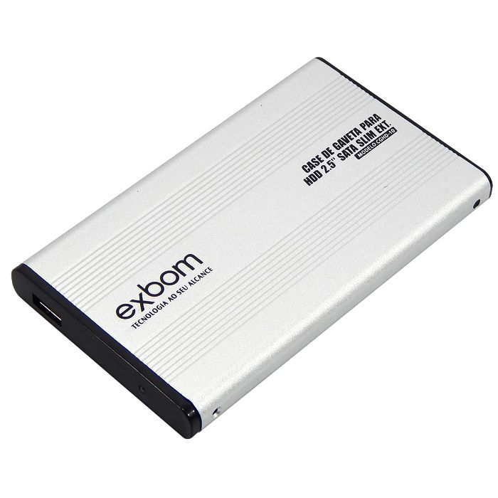 CASE PARA HD 2.5 SATA SLIM EXT CGHD-10 PRATA