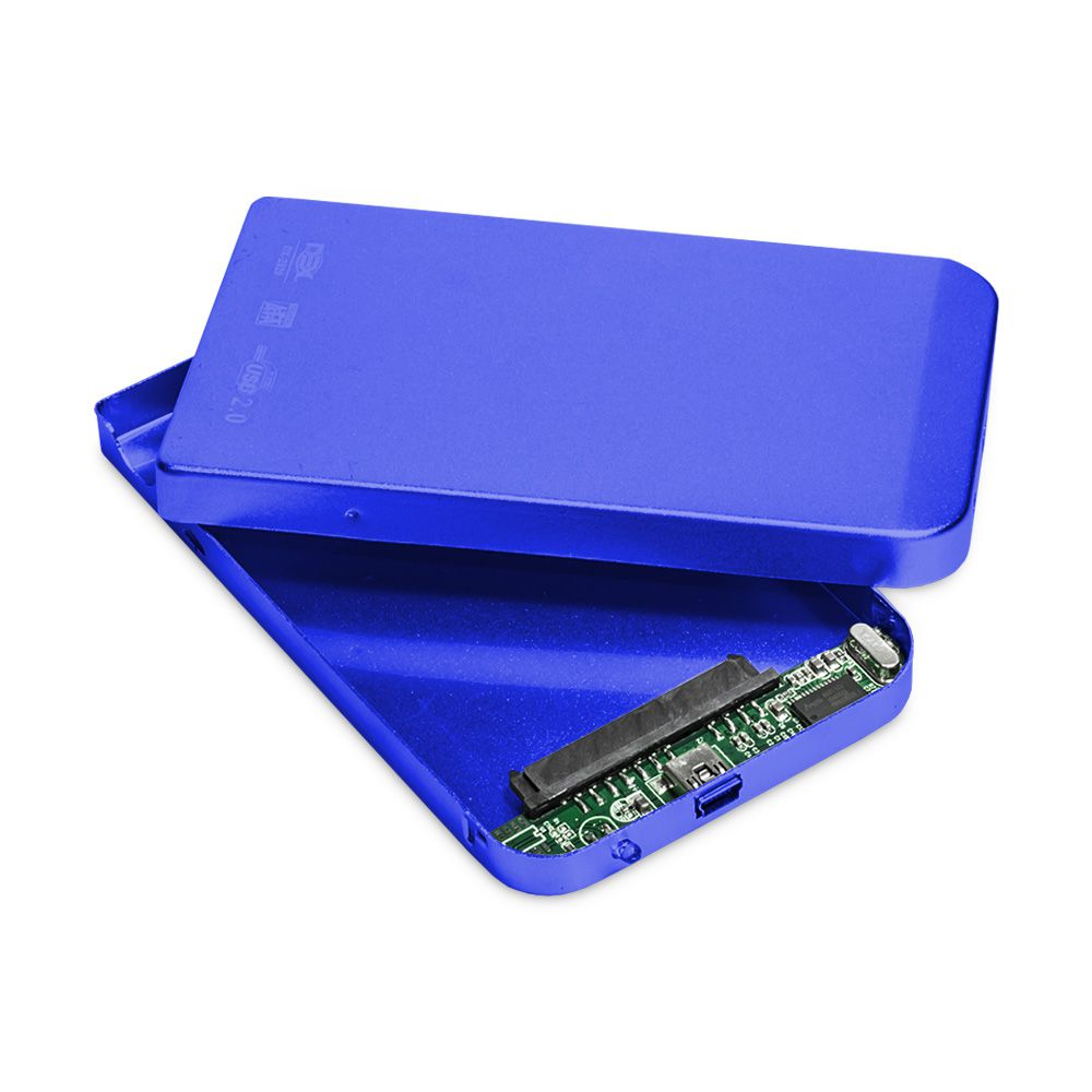 CASE PARA HD 2.5 USB 2.0 DEX DX-2520 AZUL