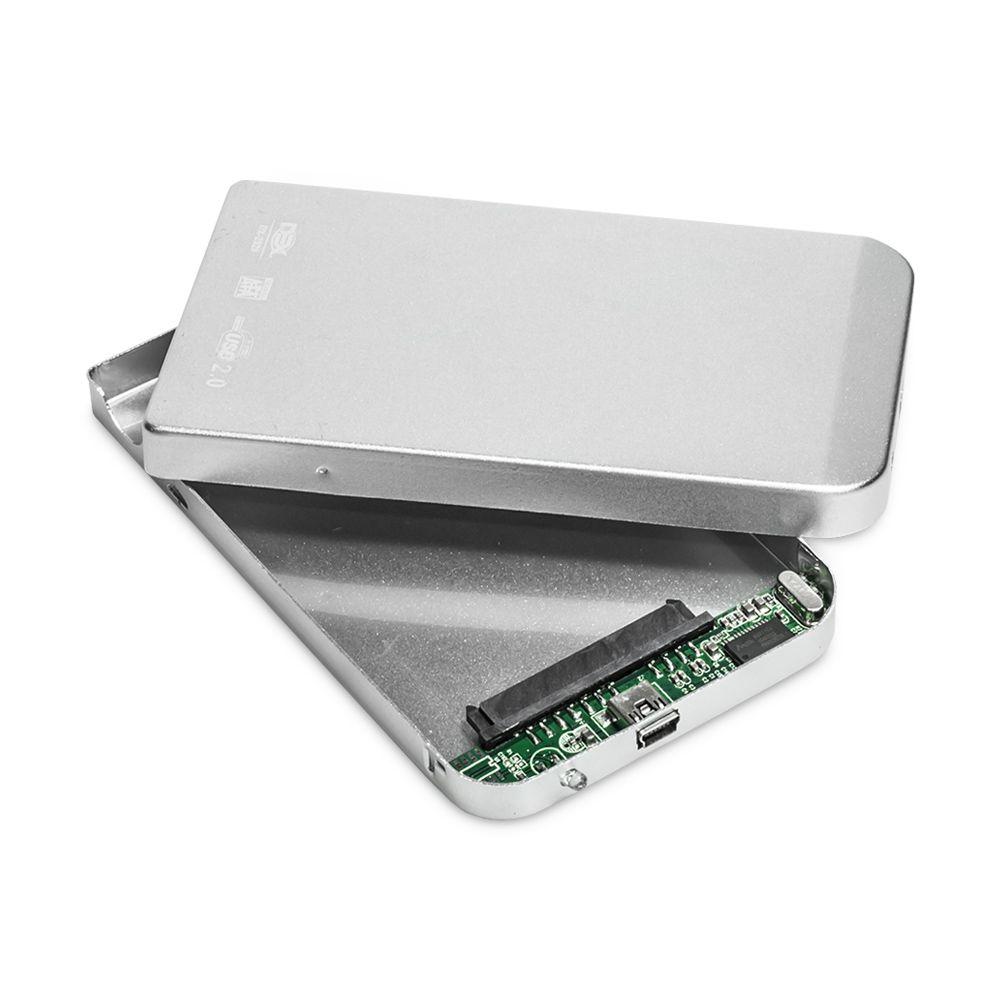 CASE PARA HD 2.5 USB 2.0 DEX DX-2520 PRATA