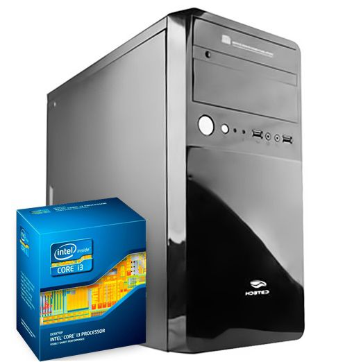 COMPUTADOR KIT WORK/HOME INTEL I3 2100 4GB HD 1000GB
