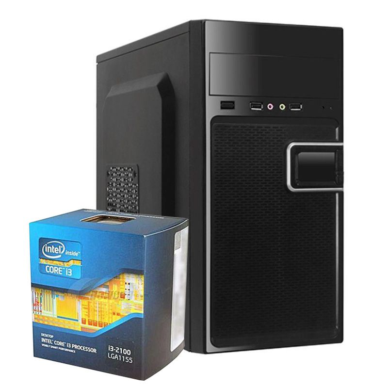 COMPUTADOR KIT WORK/HOME INTEL I3 2100 8GB SSD 120GB