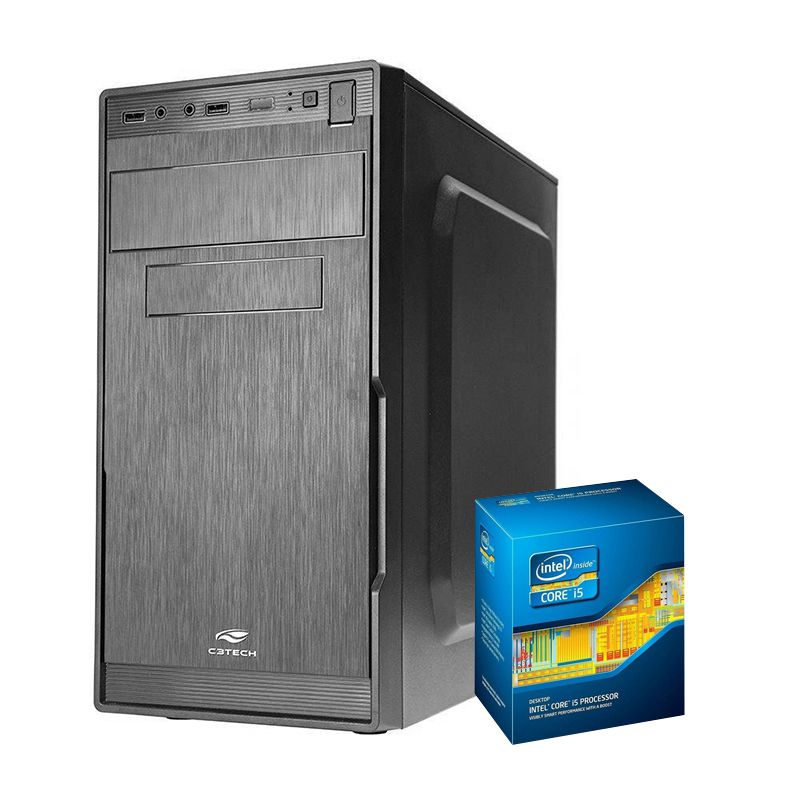 COMPUTADOR KIT WORK/HOME INTEL I5 2400 4GB 500GB
