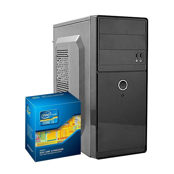 COMPUTADOR KIT WORK/HOME INTEL I5 2400 4GB SSD 240GB