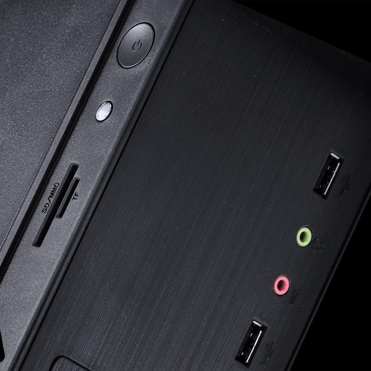COMPUTADOR LITHIUM AMD RYZEN 5 2400G 3.6GHZ MEM.8GB (2X 4GB) HD 320GB GAB.SLIM 275W PLACA MAE GIGABYTE - LINUX
