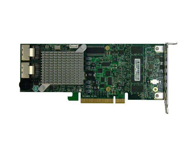 CONTROLADORA RAID SUPERMICRO AOC-SAS2LP-H8IR RAID SAS PCI-EX8 512MB 2 IPASS