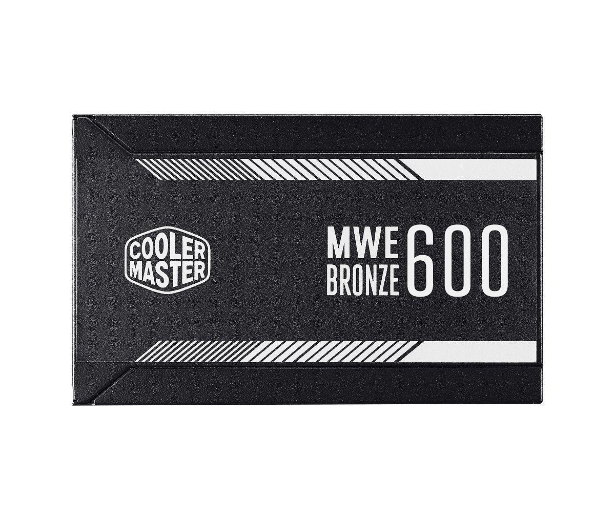 FONTE MWE 600W 80 PLUS BRONZE