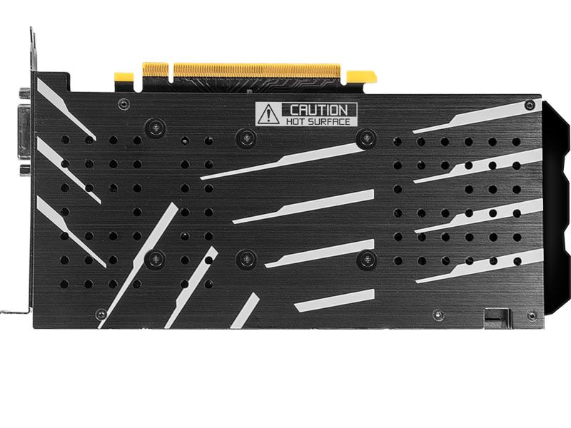 GEFORCE GTX ENTUSIASTA NVIDIA GTX 1660 OC ONE CLICK 6GB DDR5 192BIT DP HDMI DVI