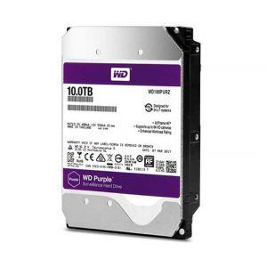 HDD DRIVE WD100PURZ 10TB SATA 3 5400RPM 64MB PURPLE WESTERN DIGITAL
