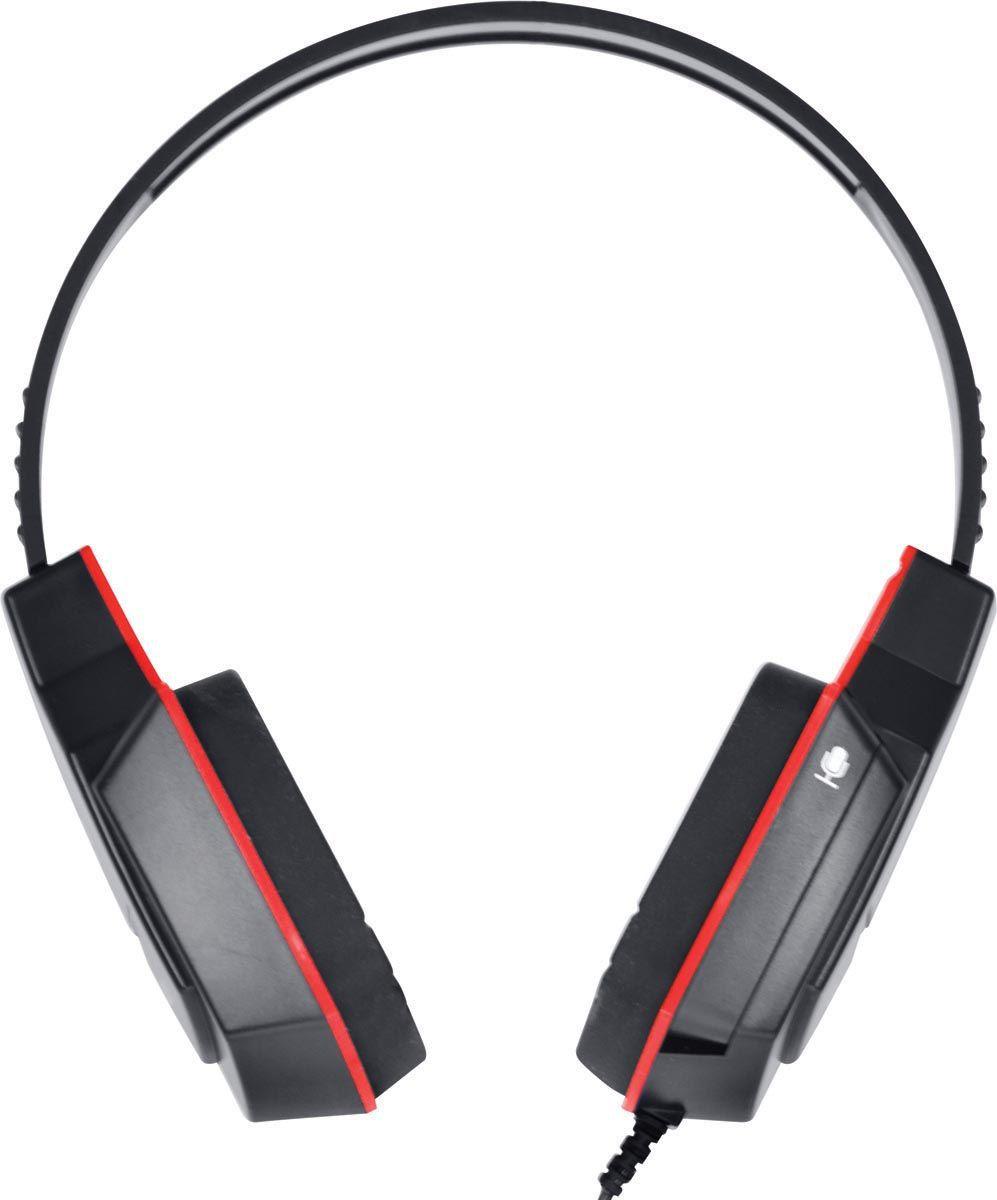 HEADSET GAMER VX GAMING V BLADE P2 COM MICROFONE RETRÁTIL - PRETO E VERMELHO