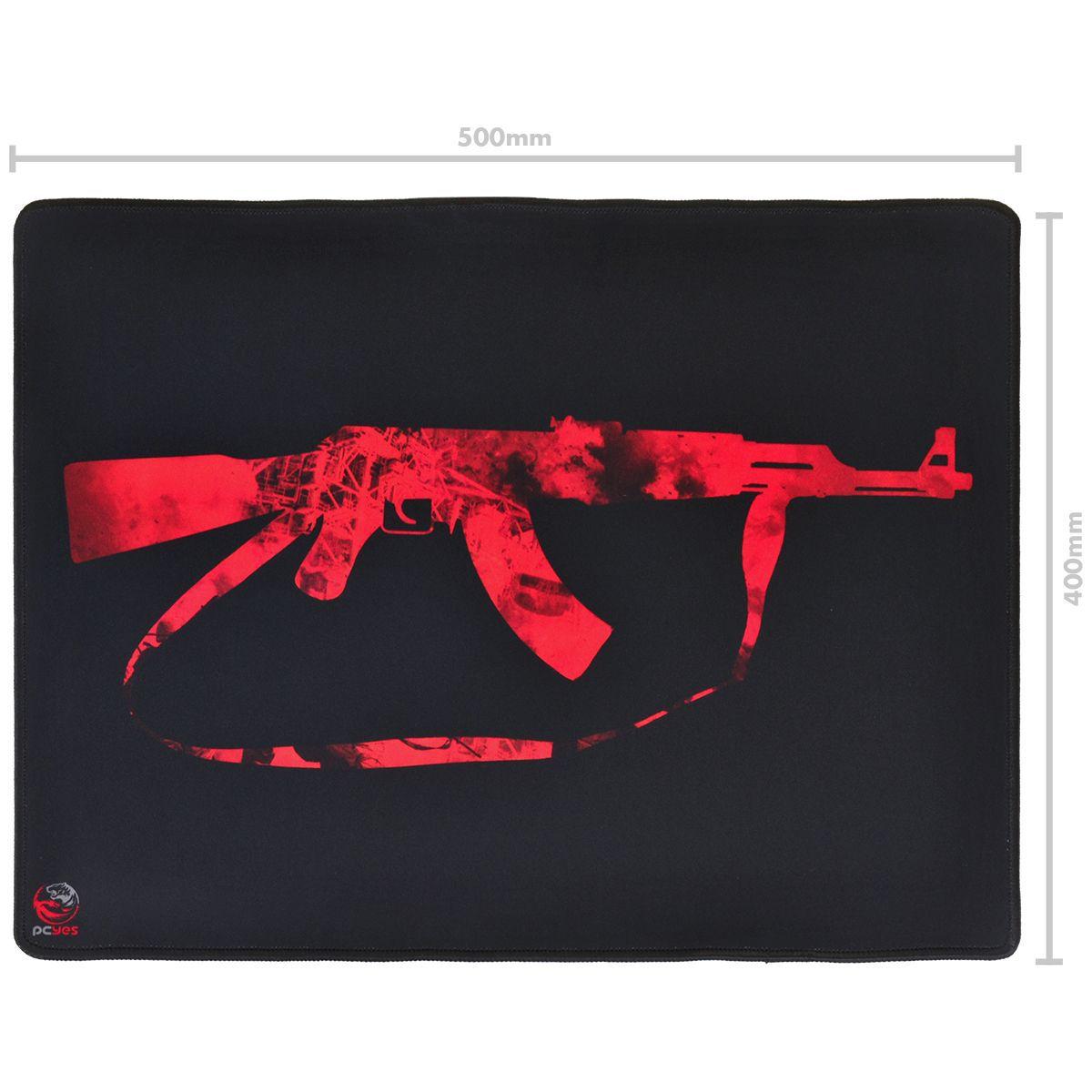 MOUSE PAD FPS AK47 500X400MM - FA50X40