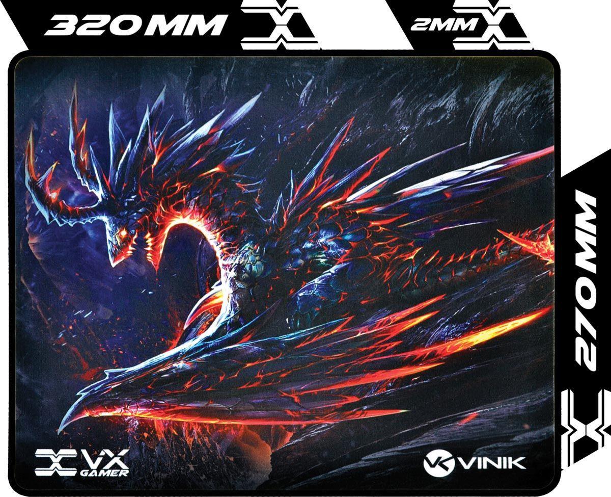 MOUSE PAD VX GAMING VINIK DRAGON - 320X270X2MM