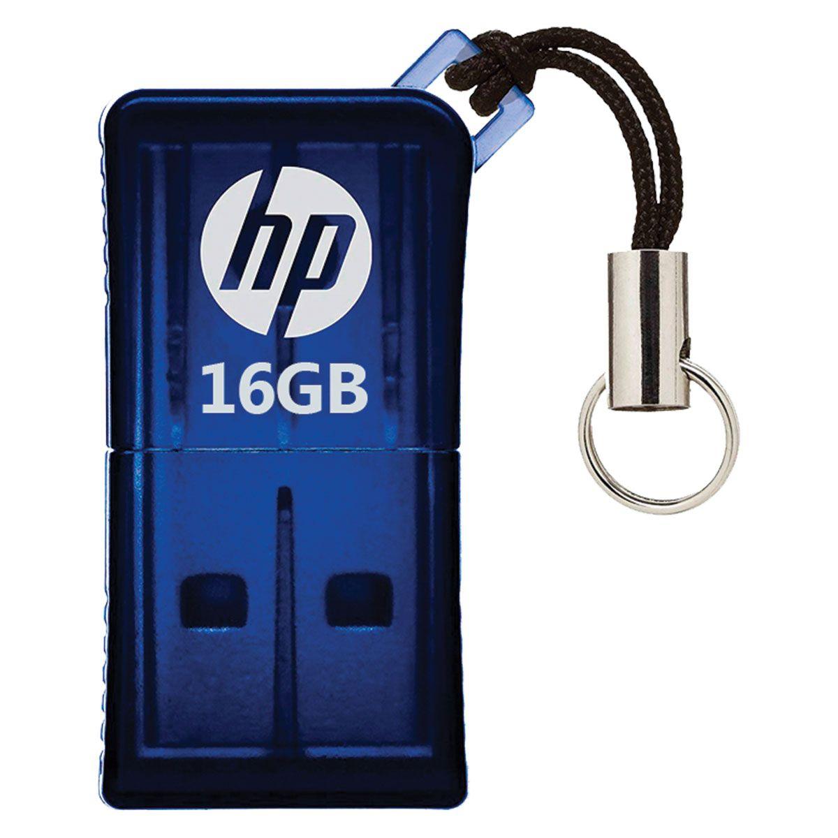 PEN DRIVE MINI HP USB 2.0 V165W 16GB HPFD165W2-16