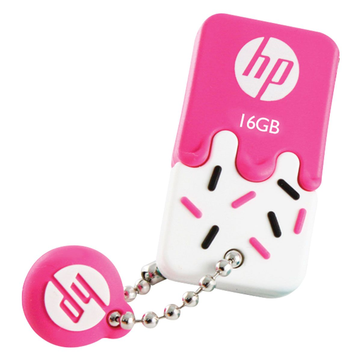 PEN DRIVE MINI HP USB 2.0 V178P 16GB PINK HPFD178P-16