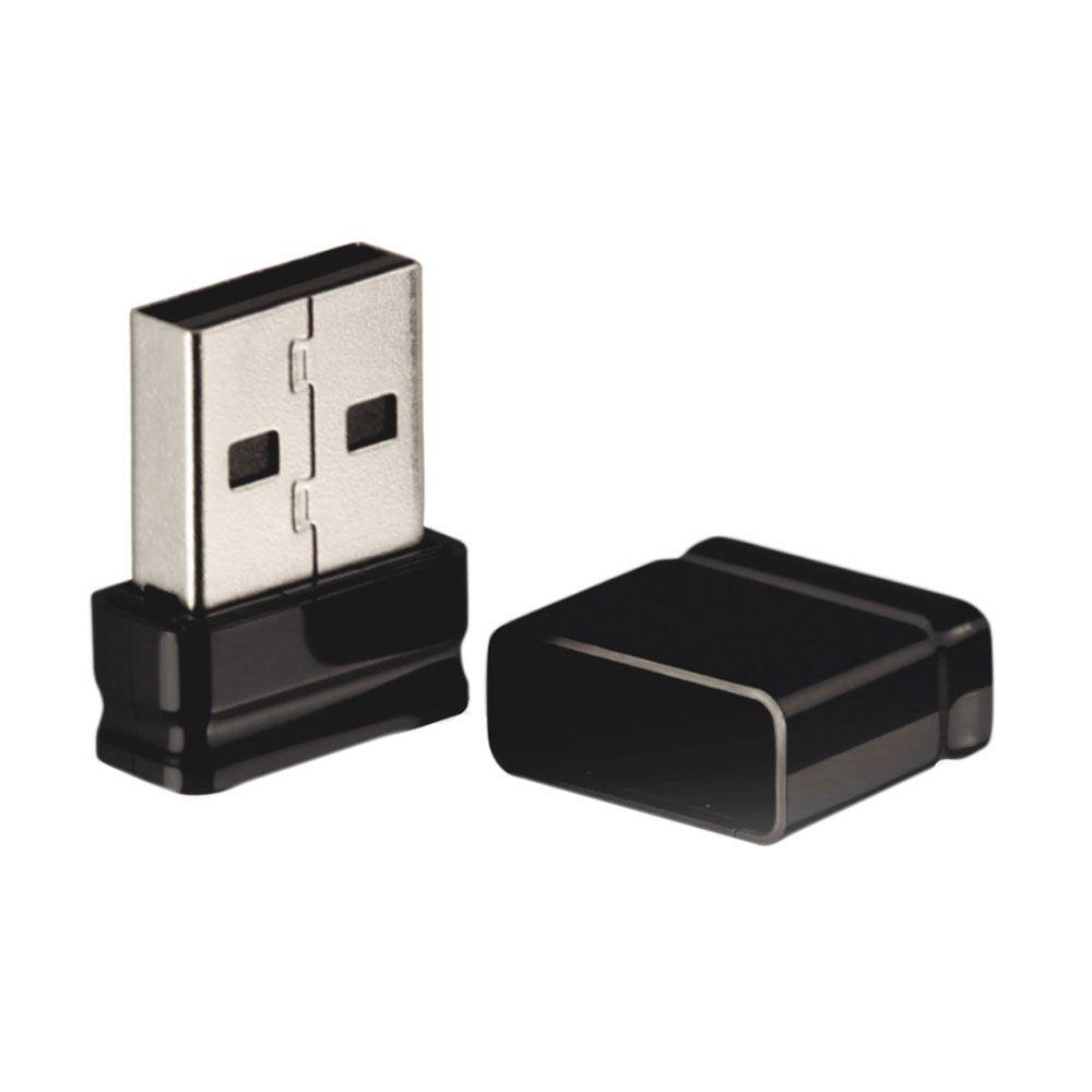 Pen Drive Multilaser PD054 Nano 16 GB USB 2.0 Preto