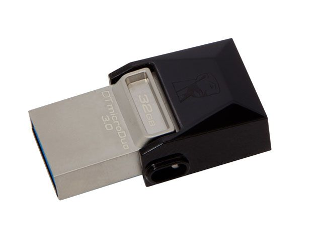 PEN DRIVE USB 3.0 SMARTPHONE KINGSTON DT MICRO DUO 32GB USB E MICRO USB 3.0 OTG