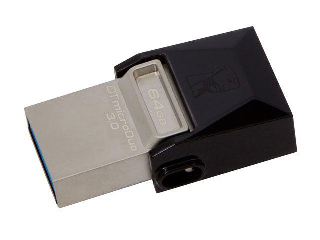 PEN DRIVE USB 3.0 SMARTPHONE KINGSTON DT MICRO DUO 64GB USB E MICRO USB 3.0 OTG