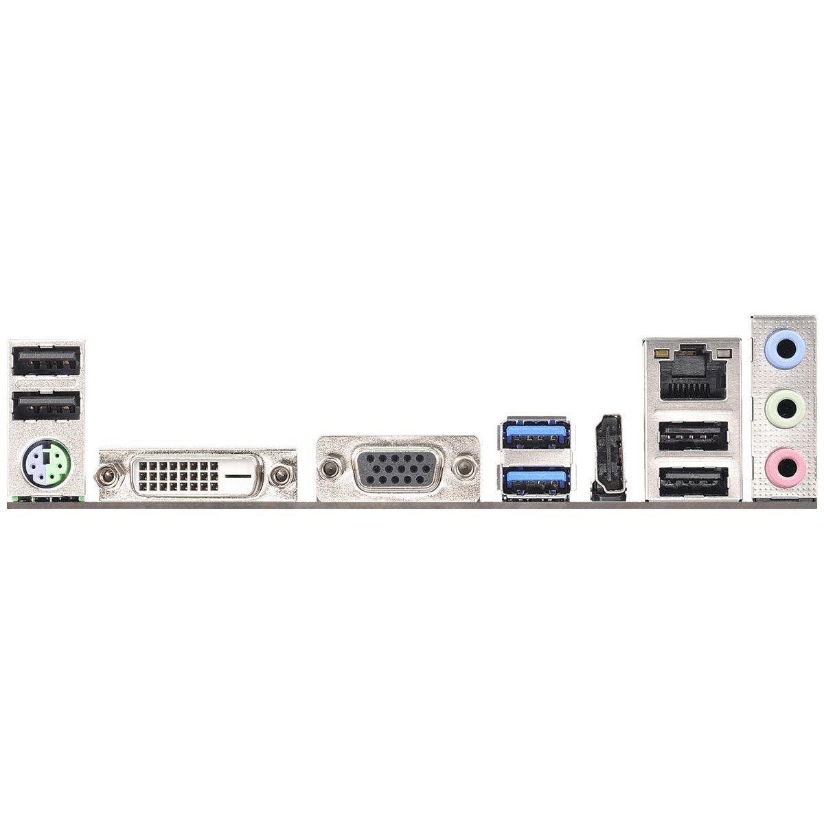 PLACA-MÃE MICRO ATX ASROCK FM2A68M-HD+ R2.0 P/ FM2+ 95W / FM2 100W DDR3 DUAL CHANNEL - VGA/HDMI - USB 3.1 GEN1