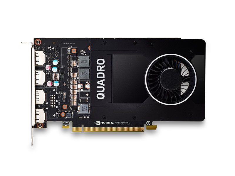 QUADRO WORKSTATION SERVER NVIDIA P2000 5GB DDR5 160BIT 1024 CUDA CORES DP