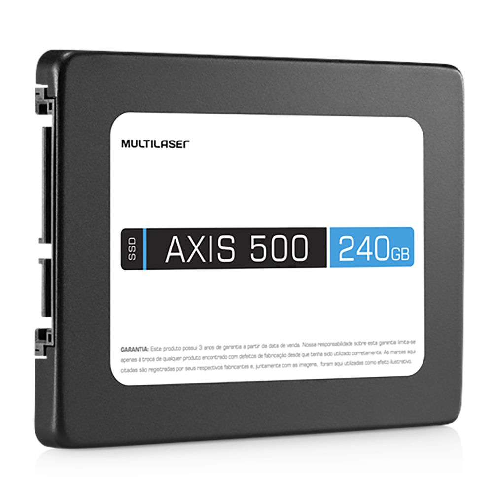 SSD Axis 500 Multilaser SS200 240Gb Sata III 2,5 polegadas