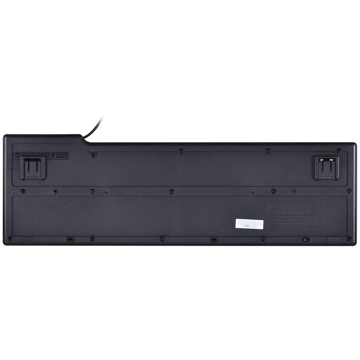 TECLADO COMPACTO USB DYNAMIC ABNT2 1.8M PRETO - DT150