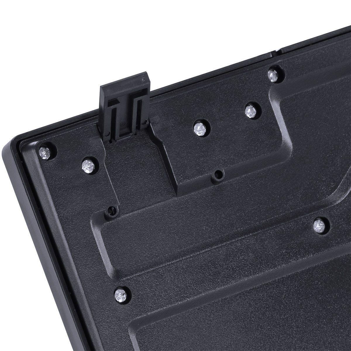 TECLADO USB DYNAMIC ABNT2 RESISTENTE À ÁGUA 1.8M PRETO - DT100