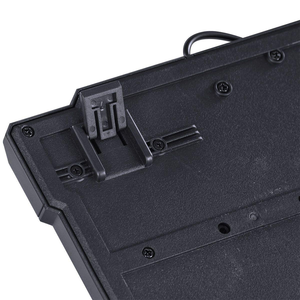 TECLADO USB GAMER VX GAMING DRAGON V2 ABNT2 1.8M PRETO COM VERDE - GT104