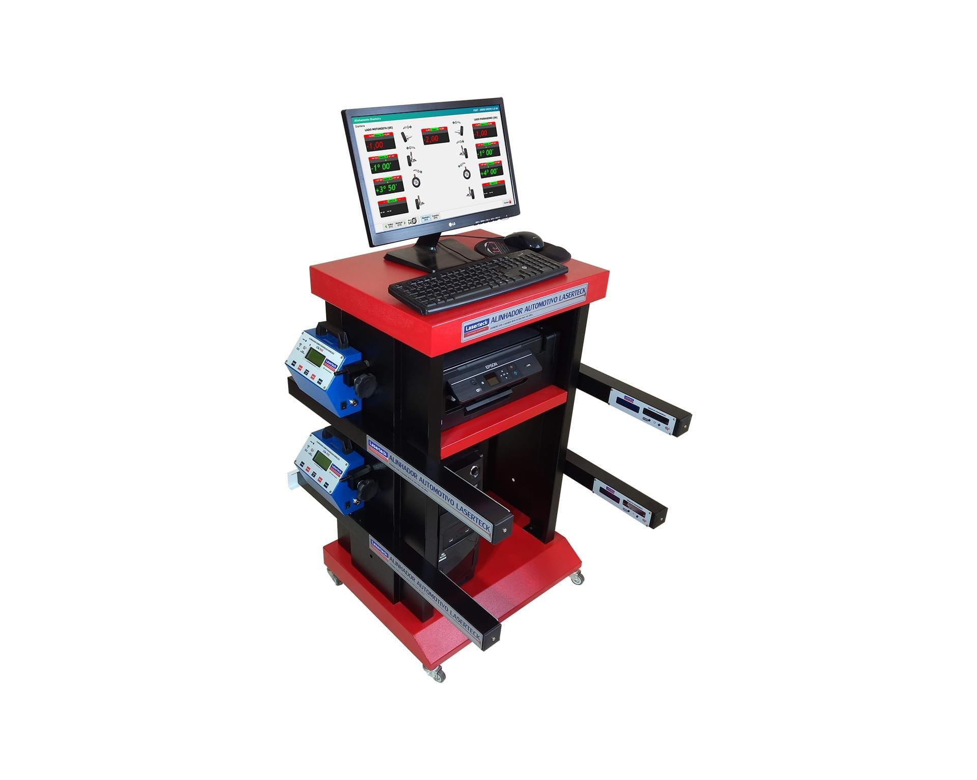 Alinhamento Digital Quatro Cabeças Laserteck (FRETE INCLUSO)