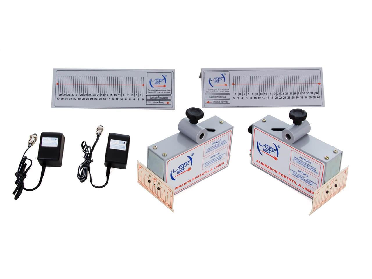 Projetores de Painel com carregadores de Bateria + Par de escalas traseira (FRETE INCLUSO)