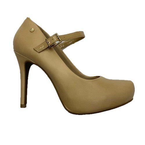 Sapato Boneca Ramarim Scarpin Salto Fino 1891102 Feminino