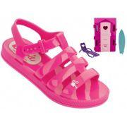 Sandália Barbie Grendene 21832 Com Brinde Infantil