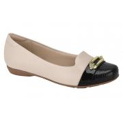 Sapatilha Modare Sapato Fivela Conforto 7016.474 Feminina