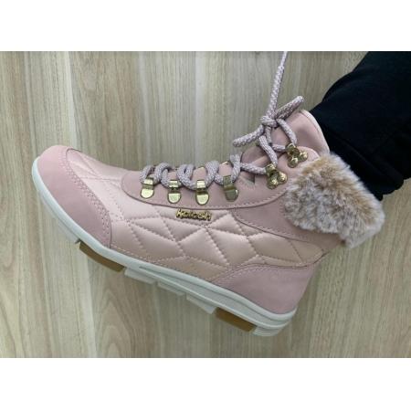 Tênis Kolosh Cano Alto Bota com pelo Sneaker C2644 Feminino