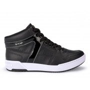 Tênis Kolosh Sneaker Cano Alto Bota Cadarço C2202 Feminino