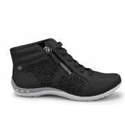 Tênis Kolosh Sneaker Cano Alto Bota Zíper C0636A Feminino