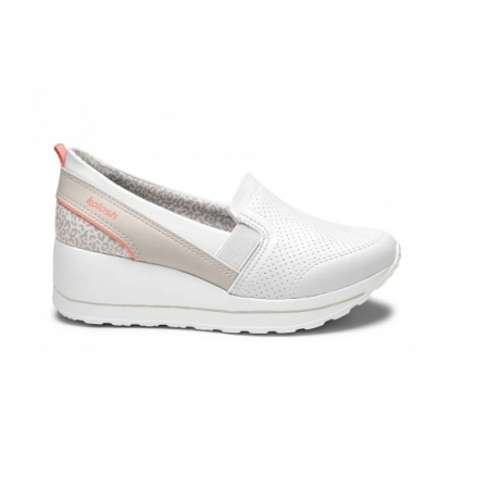 Tênis Kolosh Sneaker Plataforma Anabela Leve C1417 Feminino